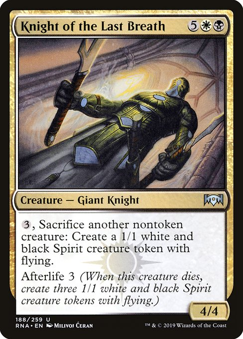 Knight of the Last Breath (RNA)