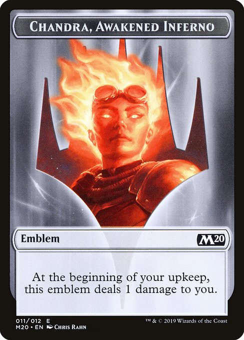 Chandra, Awakened Inferno Emblem (TM20)