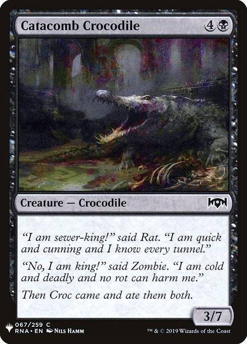 Catacomb Crocodile (MB1)