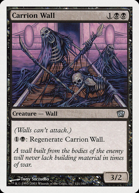 Carrion Wall (8ED)