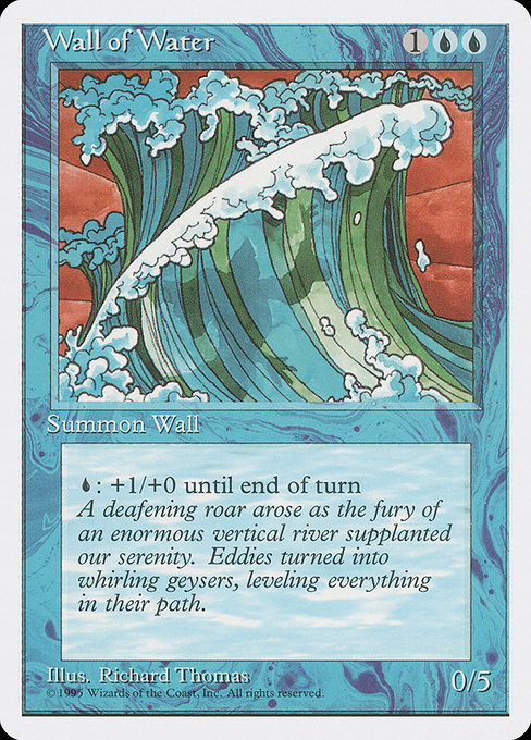 Wall of Water (4ED)
