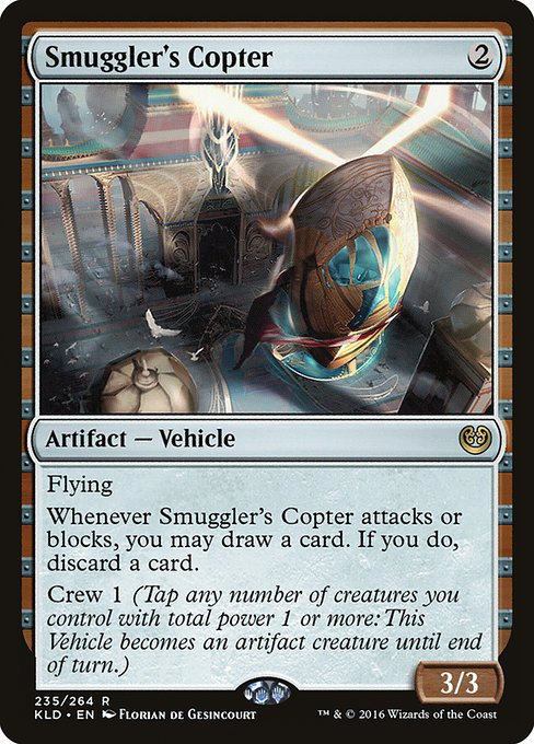 Smuggler's Copter - Magic: the Gathering
