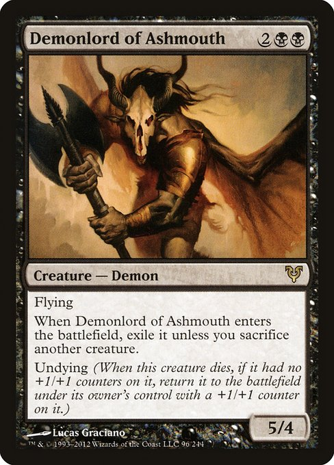 Demonlord of Ashmouth (AVR)