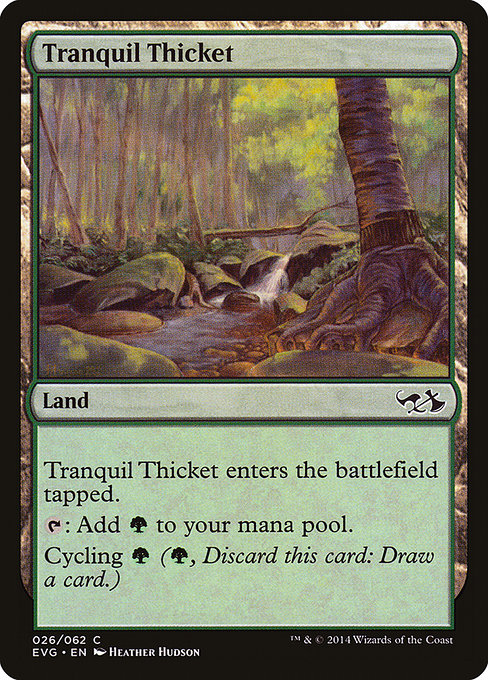 Tranquil Thicket (EVG)