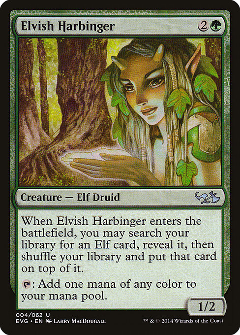 Elvish Harbinger (EVG)