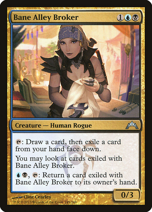 Bane Alley Broker (GTC)