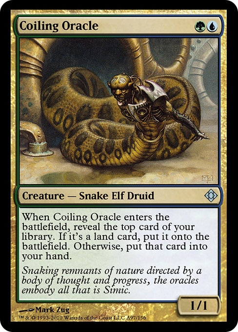 Coiling Oracle (TD0)