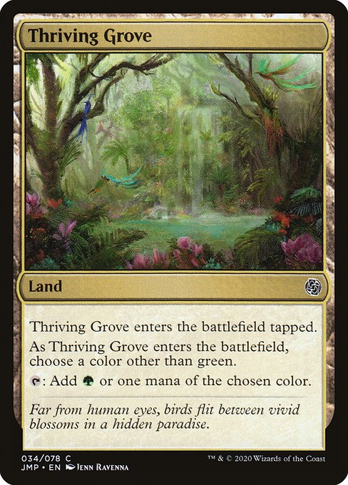 Thriving Grove (JMP)