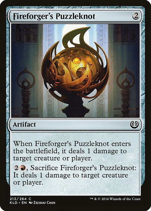 Fireforger's Puzzleknot (KLD)