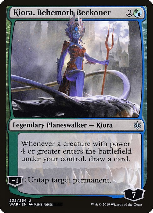 Kiora, Behemoth Beckoner (WAR)