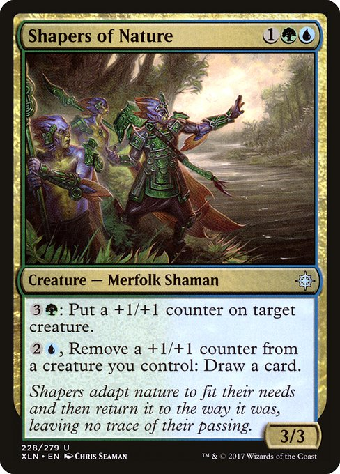 Shapers of Nature (XLN)