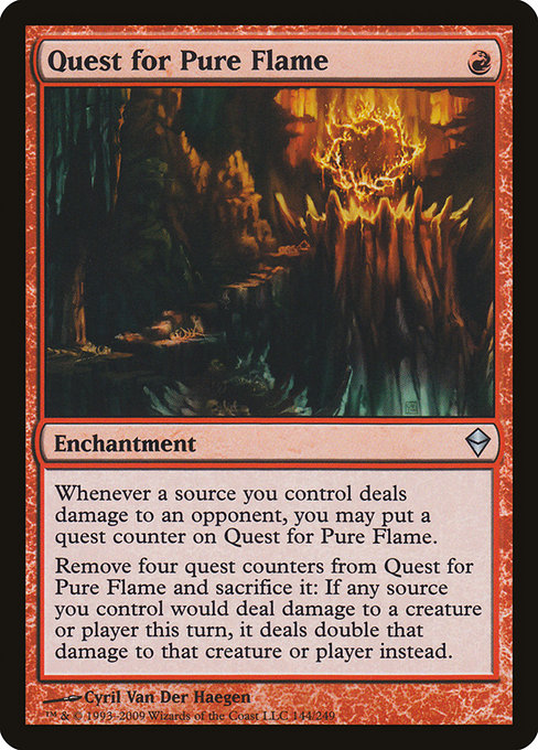 Quest for Pure Flame (ZEN)