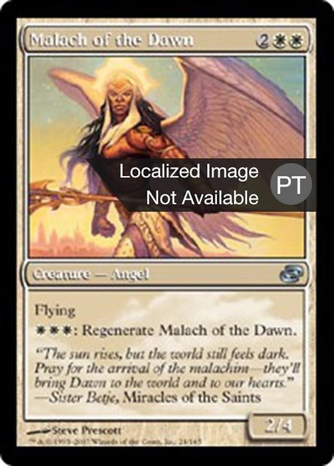 Malach of the Dawn (PLC)