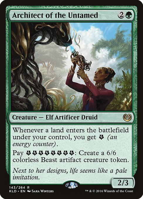 Architect of the Untamed (KLD)