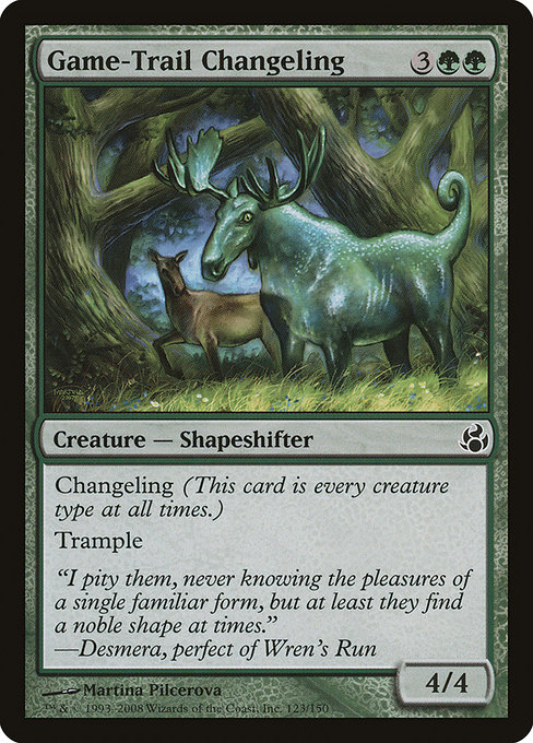 Game-Trail Changeling (MOR)