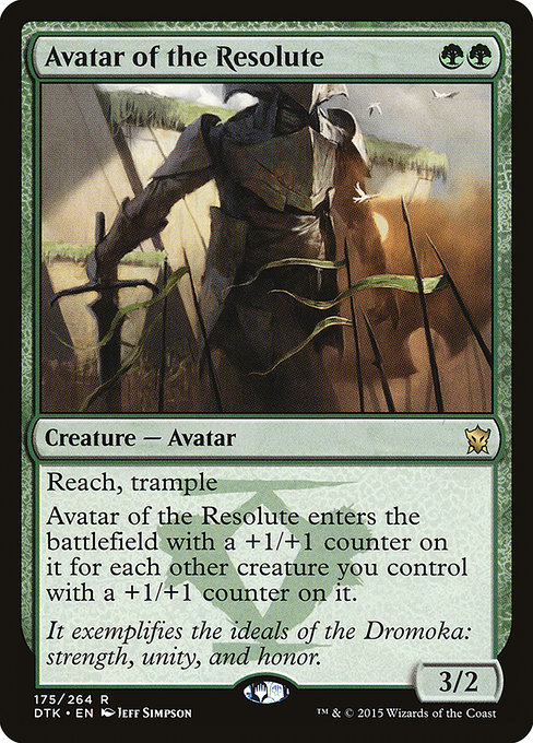 Avatar of the Resolute (DTK)