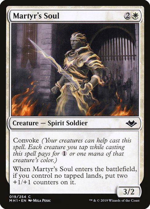 Martyr's Soul (MH1)