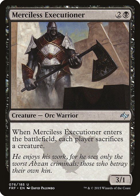 Merciless Executioner (FRF)