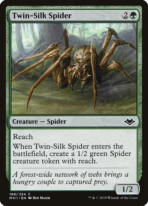 Twin-Silk Spider (MH1)