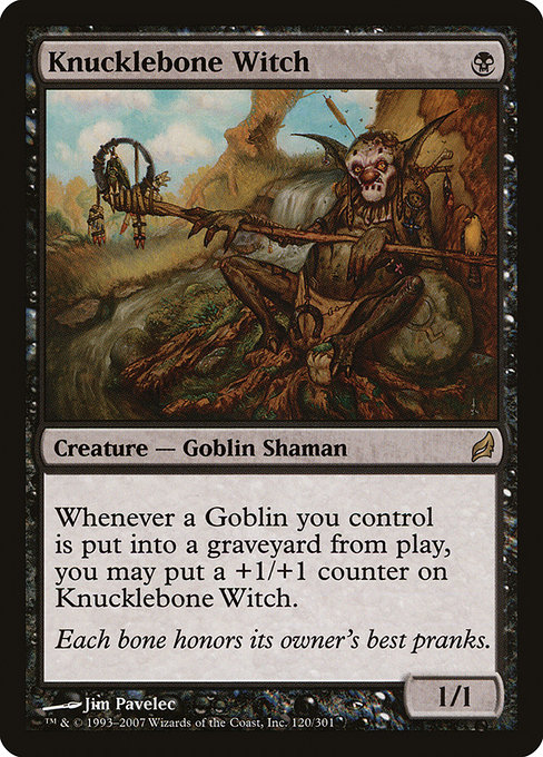 Knucklebone Witch (LRW)