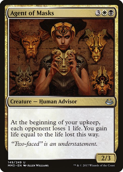 Agent of Masks (MM3)