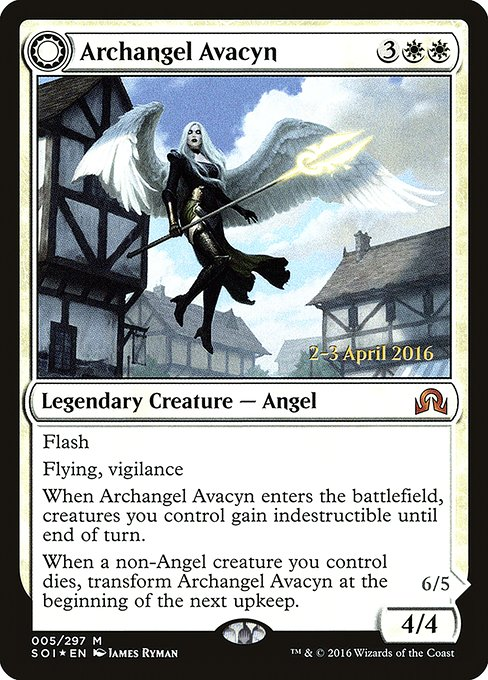Archangel Avacyn // Avacyn, the Purifier (PSOI)