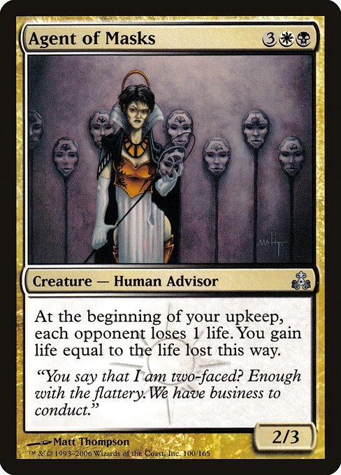 Agent of Masks (GPT)