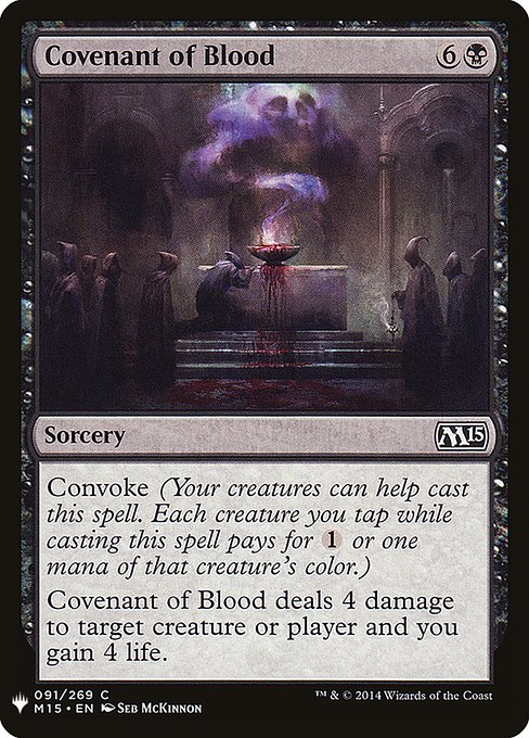 Covenant of Blood (MB1)