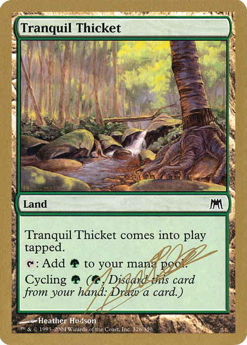 Tranquil Thicket (WC04)
