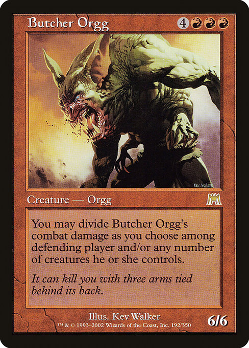 Butcher Orgg (ONS)