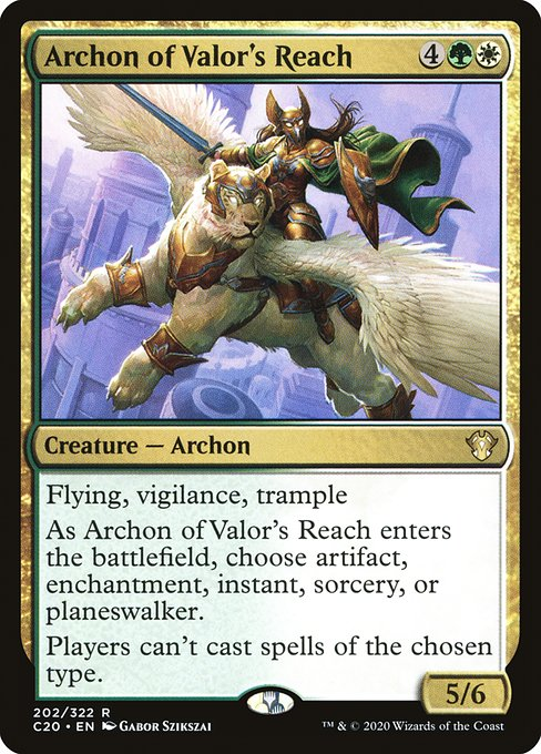 Archon of Valor's Reach (C20)