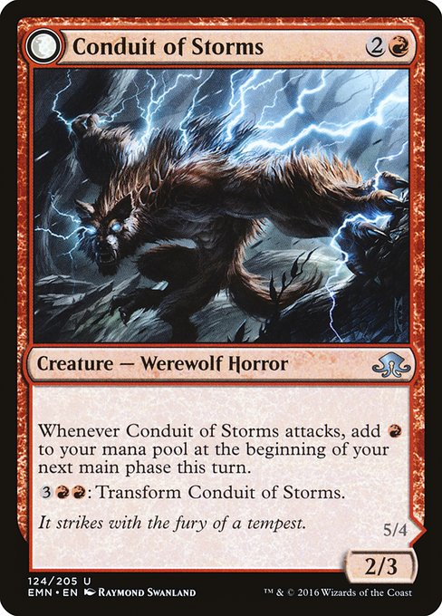 Conduit of Storms // Conduit of Emrakul (EMN)