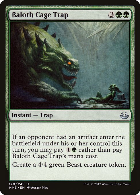 Baloth Cage Trap (MM3)