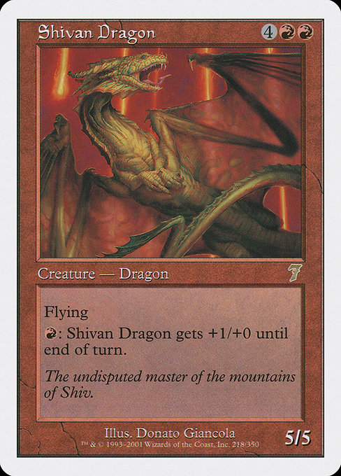 Shivan Dragon (7ED)