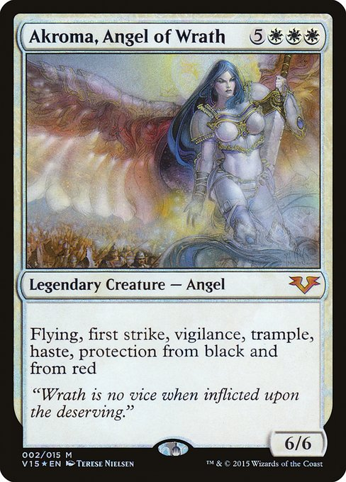Akroma, Angel of Wrath (V15)