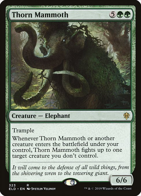 Thorn Mammoth (ELD)