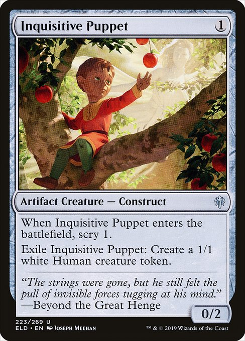 Inquisitive Puppet (ELD)