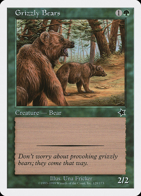 Grizzly Bears (S99)