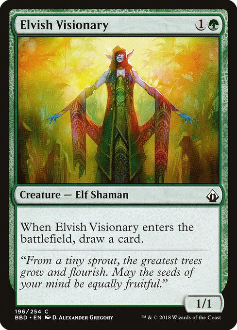 Elvish Visionary (BBD)