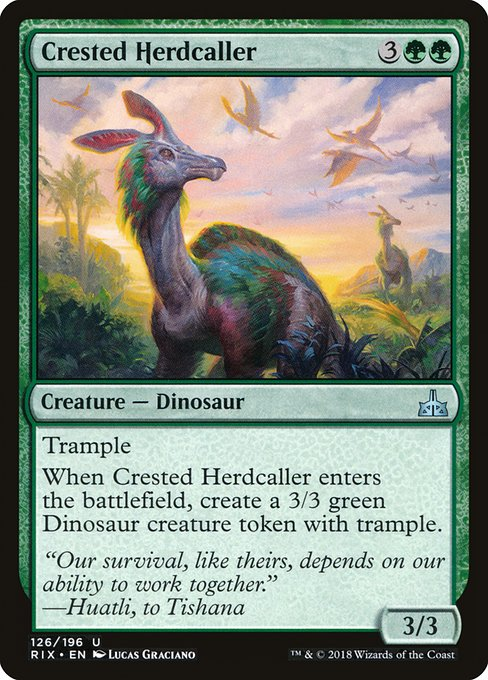 Crested Herdcaller (RIX)
