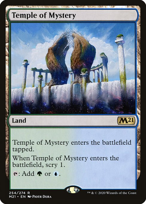 Temple of Mystery (M21)