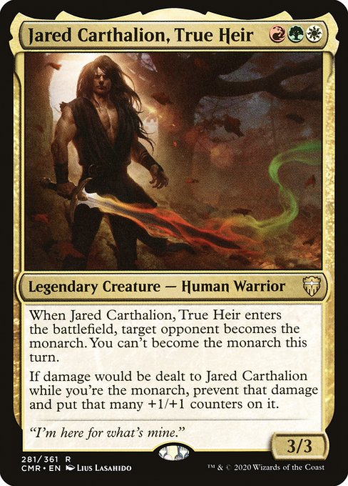 Jared Carthalion, True Heir (CMR)