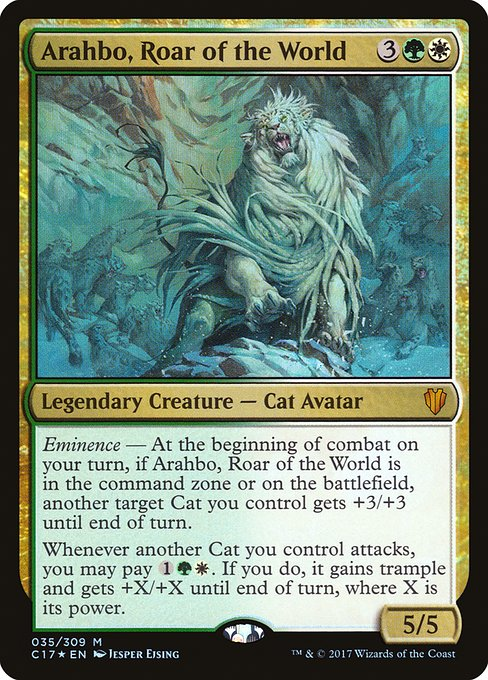 Arahbo, Roar of the World (C17)