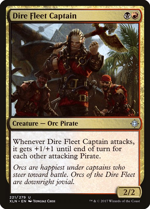 Dire Fleet Captain (XLN)