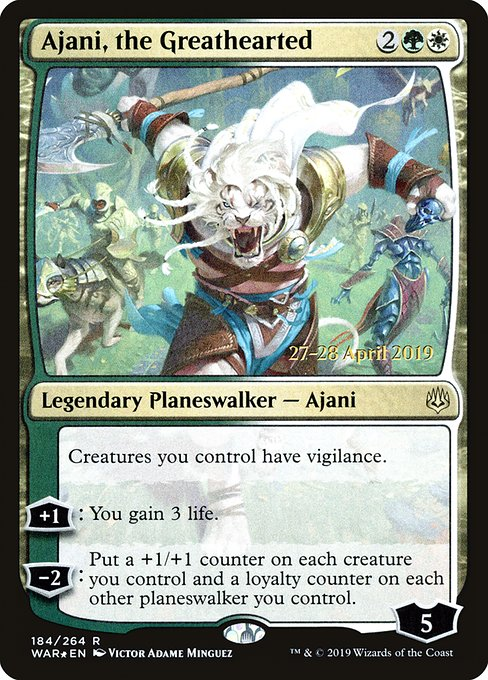 Ajani, the Greathearted (PWAR)