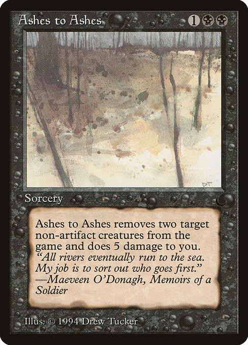 Ashes to Ashes (DRK)