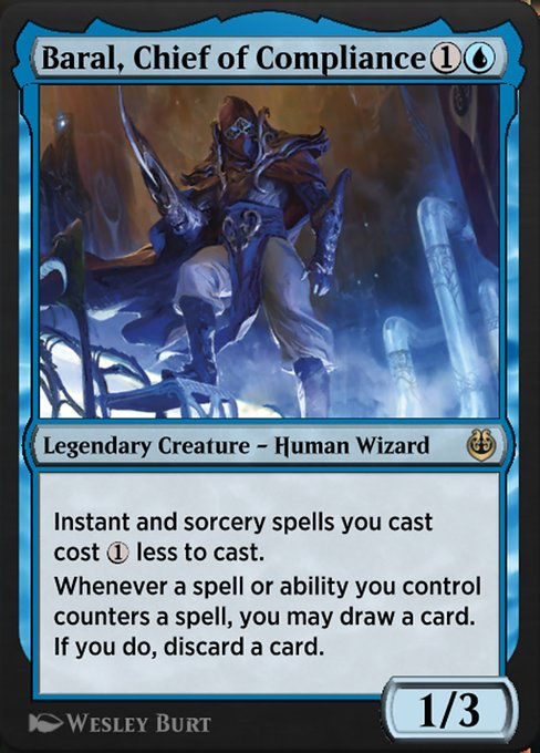 Baral, Chief of Compliance (KLR)