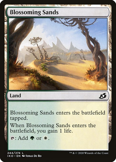 Blossoming Sands (IKO)