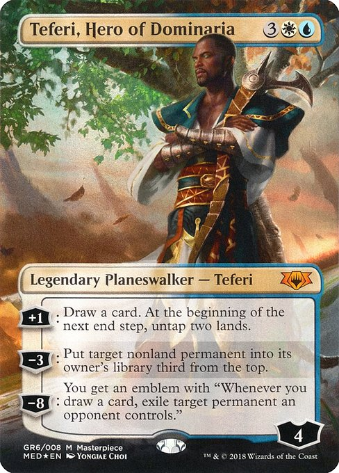 Teferi, Hero of Dominaria (MED)