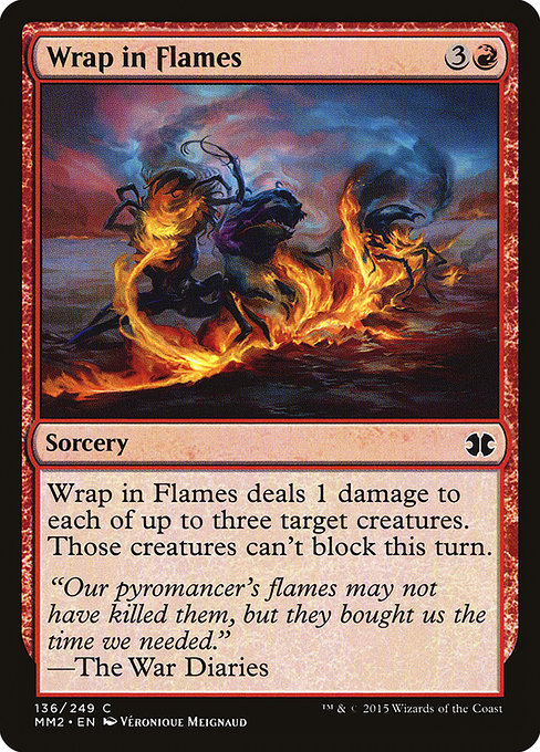 Wrap in Flames (MM2)